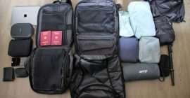 Kickstarter travel bag designs